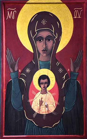 Ikone Maria Mutter Europas Charkiw