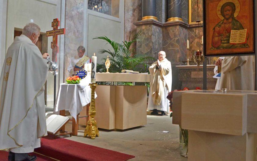 Einsegnung Maria Mutter Europas