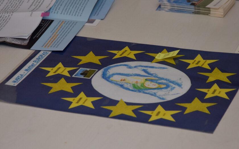 12 Sterne um Maria Mutter Europas